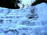 Blue Ice Falls by mrdoubleday, Photography->Manipulation gallery