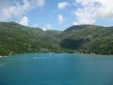 Sea, Sky & Mountains of Labadee, Haiti by Pfaff, Photography->Landscape gallery