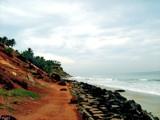 Varkala Cliff beach by Sree, Photography->Shorelines gallery