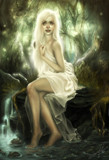 Forest Nymph by PrettyFae, illustrations->digital gallery