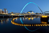 Millennium bridge & Sage theatre by Leahcim_62, Photography->Bridges gallery
