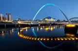 Image: Millennium bridge & Sage theatre