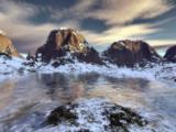 Terragen Thaw by Mannie3, computer->landscape gallery