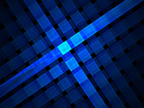 Blue Plaid by razorjack51, Abstract->Fractal gallery