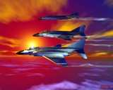 Flight of The Phantoms by MrXwild, Computer->3D gallery
