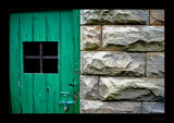 Green Door by dmk, Photography->Architecture gallery