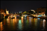 Paris By Night - Notre Dame Bridge II by Heroictitof, photography->bridges gallery