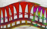 The Rainbow Bridge by Flmngseabass, abstract gallery