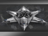 f-117 circle by antmark, Computer->3D gallery