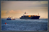 Outward Bound At Christmas Eve by corngrowth, Photography->Boats gallery