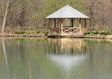 Pearson Gazebo Reflections by Jimbobedsel, photography->architecture gallery