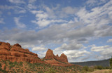 blue skies and red rocks by jeenie11, Photography->Skies gallery