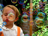 Blowing bubbles by rozem061, photography->people gallery