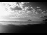 black n white beach by JQ, Photography->Shorelines gallery