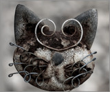 Crazy Cat Head by tigger3, contests->b/w challenge gallery