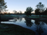 Cold swim on the golf course by wheedance, photography->landscape gallery