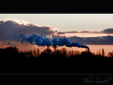 Blue smoke! by JQ, Photography->Skies gallery