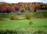 Painted Autumn Hillside by Pistos, Photography->Landscape gallery