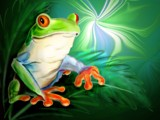 Watching You by breeze_lc, Contests->Draw a Frog gallery