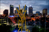 Tampa Bay Skyline by madmaven, photography->city gallery