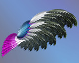 Feathered Lady by Frankief, Abstract->Fractal gallery
