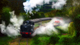LETTING OFF STEAM by LANJOCKEY, photography->transportation gallery