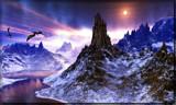 Dragon Skys by Foxfire66, Computer->Landscape gallery
