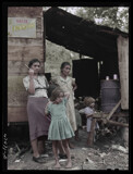Farm laborer's family in the hills 1942 by rvdb, photography->manipulation gallery
