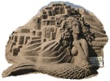 Puerto Vallarta Sand Works by Con_, photography->sculpture gallery
