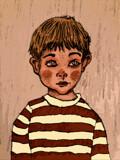 A Little Boy by bfrank, illustrations gallery