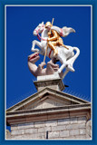 Middelburg (39), St George's Fight by corngrowth, Photography->Sculpture gallery