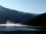 Dark Misty Mountain Lake by marcaribe, photography->mountains gallery