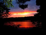 Firestorm - Over  Buck  Lake by snapshooter87, Photography->Sunset/Rise gallery