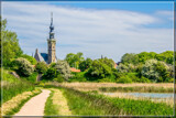 Veere Surrounded By Flowering Hawthorn Shrubs by corngrowth, photography->landscape gallery