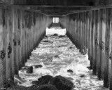 Trapped! by dmk, Photography->Shorelines gallery