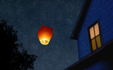 Simple Pleasures - Sky Lantern by questjester, illustrations gallery
