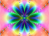 Neon Flower Zone by CK1215, Abstract->Fractal gallery