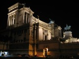 Victorio Emanuele Monument by Night by mrosin, Photography->Castles/Ruins gallery