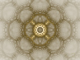 Golden lace by J_272004, Abstract->Fractal gallery