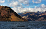 Helvellyn and Striding Edge.... by biffobear, photography->shorelines gallery