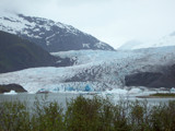 A closer shot of Mendenhall Glacier by GTRGRL, Photography->Landscape gallery