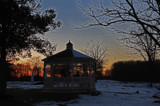 Gazebo At Sunset by jerseygurl, photography->landscape gallery