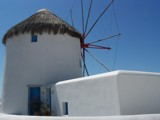 Windmill of Mykonos by hewymom, Photography->Architecture gallery