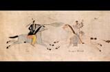 Poor Wolf--Hidatsa Artist by Nikoneer, illustrations->traditional gallery
