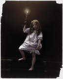 Girl in nightgown 1900-1910 by rvdb, photography->manipulation gallery