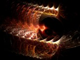 Fiery Fossil by razorjack51, Abstract->Fractal gallery