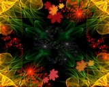 Autumn Fractal by mesmerized, abstract gallery