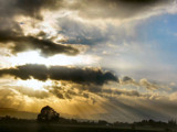 Sunrays After the Storm...part 2 by verenabloo, Photography->Skies gallery