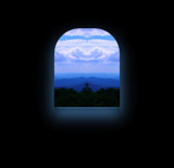 From the summit, through a window. by ccmerino, Photography->Manipulation gallery