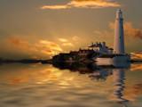 Dawn St Marys by biffobear, photography->lighthouses gallery
